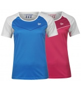 DUNLOP PERFORMANCE CREW TEE WOMEN