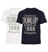 KOSZULKA DUNLOP CASUAL ESTABLISHED T-SHIRT